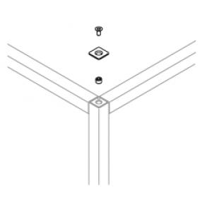 Qubo 25 P/L Abschlußkappe
