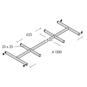 Qubo 25 P/L hanging rail...
