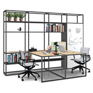 Kado 25 Desks with bookcase