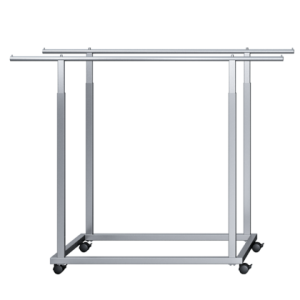 Icons flat double bar stand