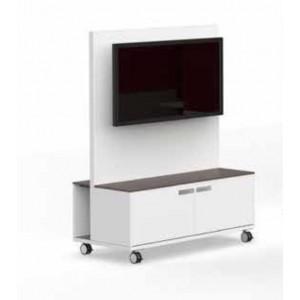 Fahrbare Monitorwand M1